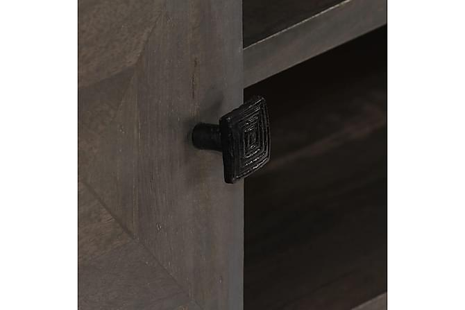 TV-benk heltre mangotre 140x30x45 cm - Møbler - Medie- & TV-møbler - TV-benk & mediabenk