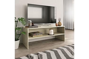 TV-benk sonoma eik 100x40x40 cm sponplate
