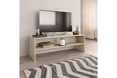 TV-benk sonoma eik 120x40x40 cm sponplate