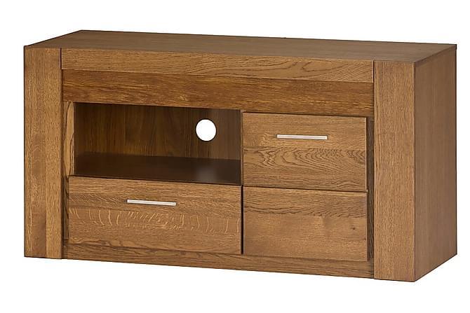 Vesela TV-benk 111 cm - Tre/Natur - Møbler - Medie- & TV-møbler - TV-benk & mediabenk