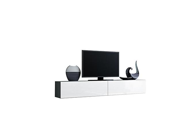 Vigo TV-benk 180x40x30 cm - Hvit - Møbler - Medie- & TV-møbler - TV-benk & mediabenk
