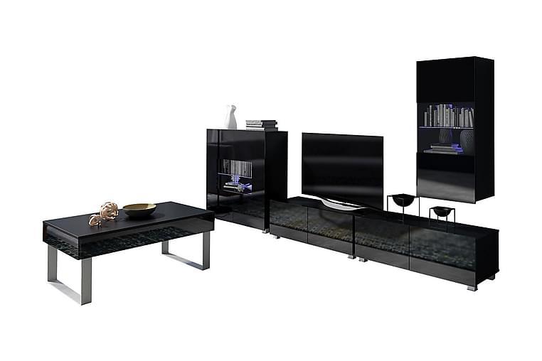 Calabrini TV-møbel - Hvit - Møbler - Medie- & TV-møbler - TV-møbelsett