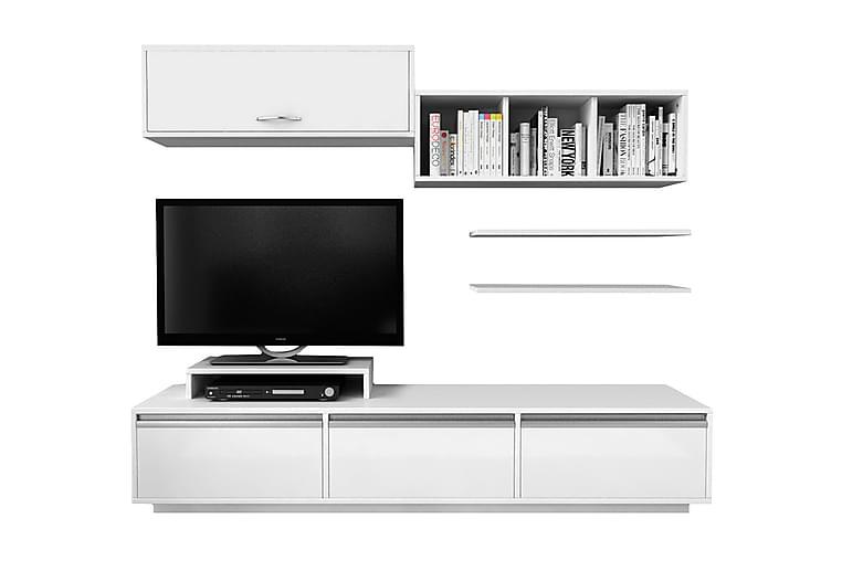Elegancia Mediaoppbevaring 180 cm - Møbler - Medie- & TV-møbler - TV-møbelsett