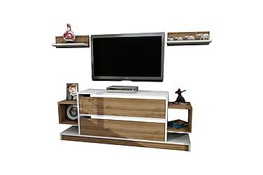 Magnax TV-benk med Vegghylle