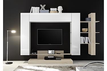 Nicery TV-møbelsett 259 cm