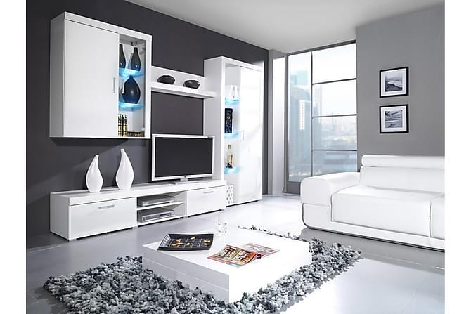 Samba TV-møbelsett - Hvit - Møbler - Medie- & TV-møbler - TV-møbelsett