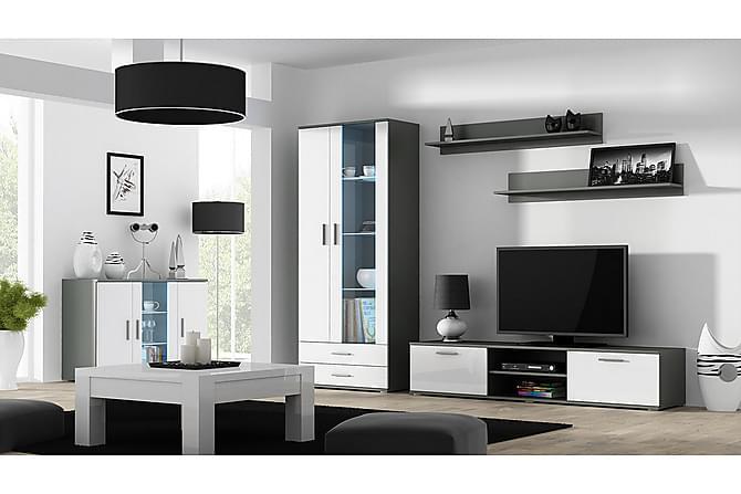 Soho Mediamøbel - Hvit - Møbler - Medie- & TV-møbler - TV-møbelsett