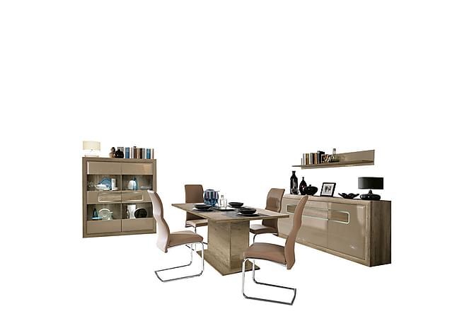 Tiziano Møbelsett Stue - Beige - Møbler - Medie- & TV-møbler - TV-møbelsett