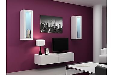 Vigo TV-møbelsett 210x40x180 cm