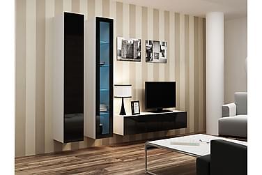 Vigo TV-møbelsett 220x40x180 cm
