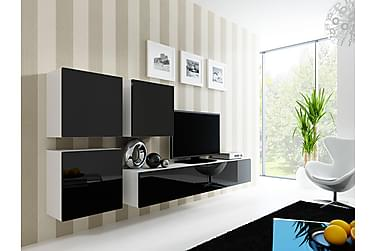 Vigo TV-møbelsett 230x40x180 cm