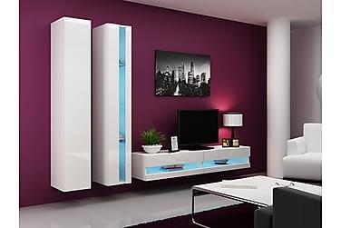 Vigo TV-møbelsett 260x40x180 cm