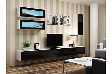 Vigo TV-møbelsett 280x40x180 cm