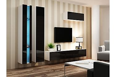 Vigo TV-møbelsett 300x40x180 cm