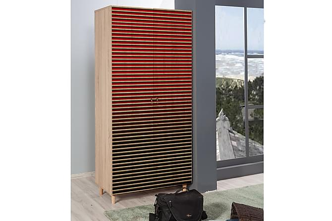Brokind Garderobe 90 cm - Brun - Møbler - Oppbevaring - Garderober & garderobesystem