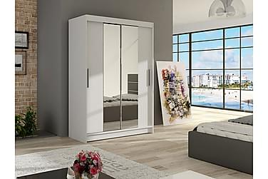 Estella Garderobe Skyvedører Smaltt Speil