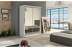 Estella Garderobe Skyvedører Speil