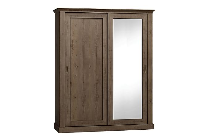 Lakisha Garderobe 183x68x220 cm - Møbler - Oppbevaring - Garderober & garderobesystem