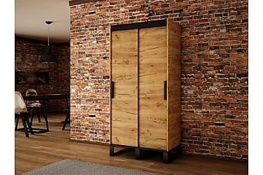 Loftgarderobe 100x62x212 cm