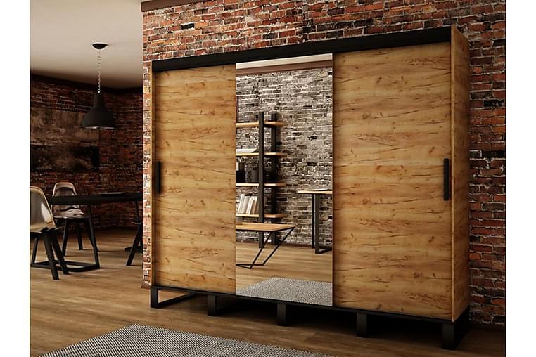 Loftgarderobe 250x62x212 cm - Møbler - Oppbevaring - Garderober & garderobesystem