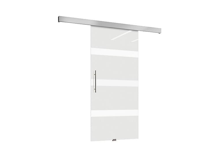 Nemanja Skyvedør 106x200 cm - Herdet Glass - Møbler - Oppbevaring - Garderober & garderobesystem