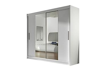 Prag Garderobe Skyvedører Smaltt Speil