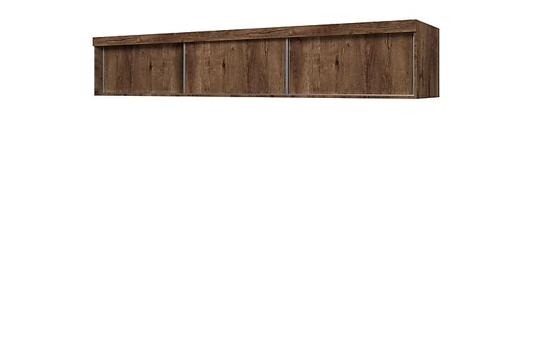 Szaf Hylle 62x250 cm til Garderobe - Mørk Ask - Møbler - Oppbevaring - Garderober & garderobesystem