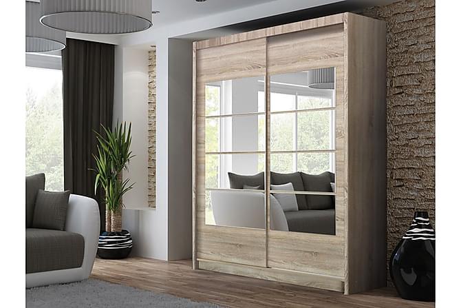 Tymon Garderobe - Eik - Møbler - Oppbevaring - Garderober & garderobesystem
