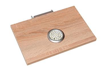 Umberto Hylleplan med LED-lampe 2-pack