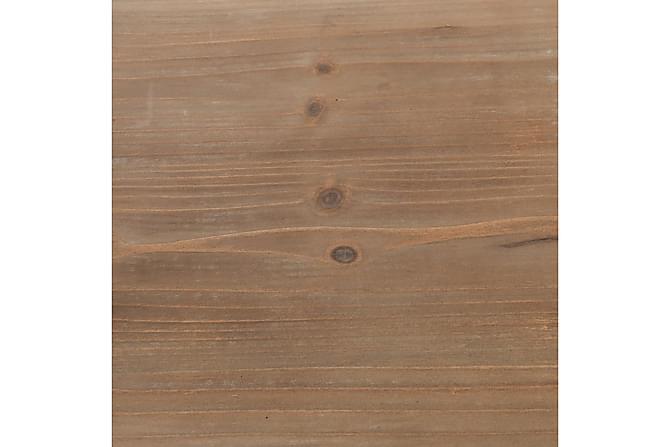 Bokhylle heltre edelgran og stål 90,5x35x180 cm - Møbler - Oppbevaring - Hyller