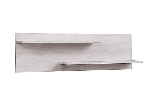 Najera Vegghylle 100 cm - Hvit - Hagemøbler - Tilbehør - Hyller