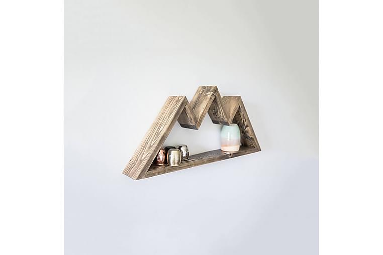 Pukkuri Vegghylle 60 cm - Brun - Møbler - Oppbevaring - Hyller