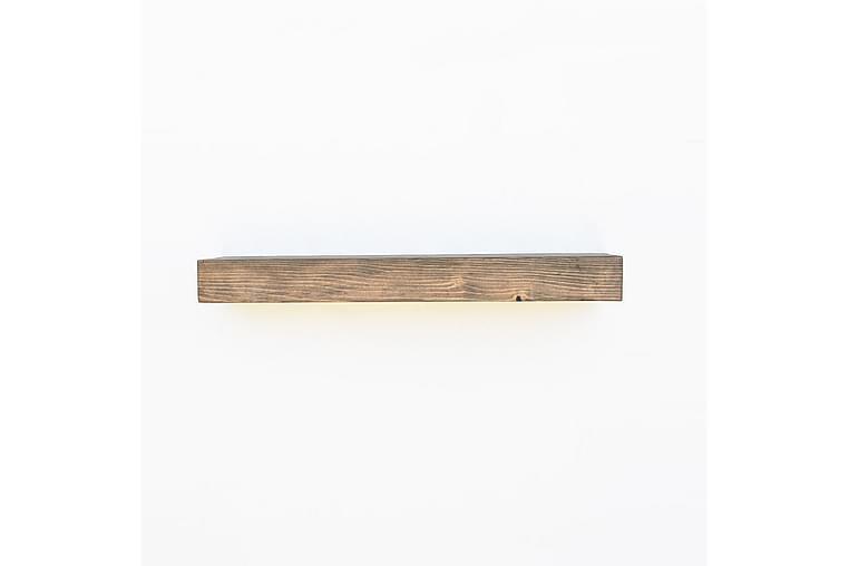 Pukkuri Vegghylle 90 cm - Brun - Møbler - Oppbevaring - Hyller