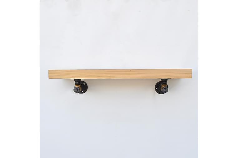 Pukkuri Veggoppheng 60 cm - Brun/Svart - Møbler - Oppbevaring - Hyller