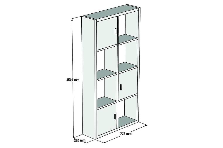 Puqa Design Bokhylle - Møbler - Oppbevaring - Hyller