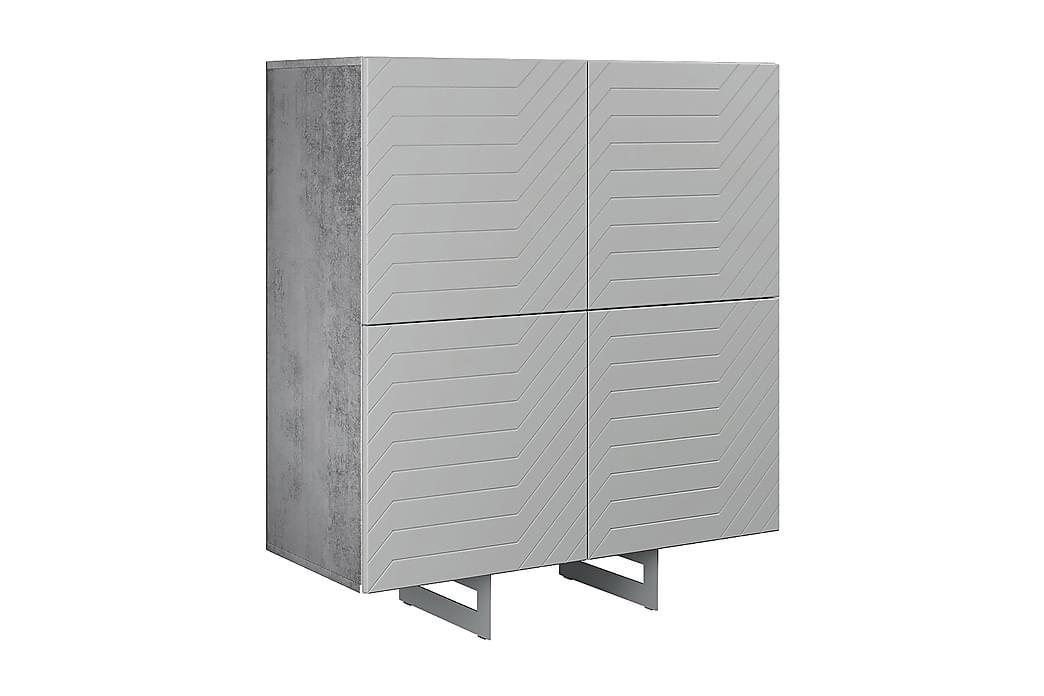 Itaca Kommode 110x45 cm - Mørkegrå - Møbler - Oppbevaring - Kommode