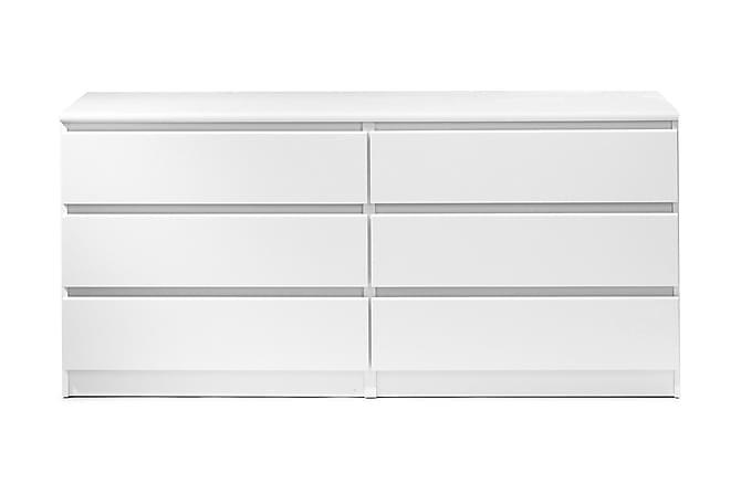 Naia Kommode 154 cm - Hvit - Møbler - Oppbevaring - Kommode