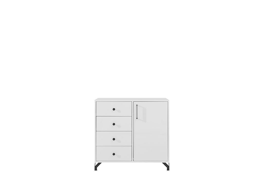 Kommode 90 cm - Hvit - Møbler - Oppbevaring - Kommode