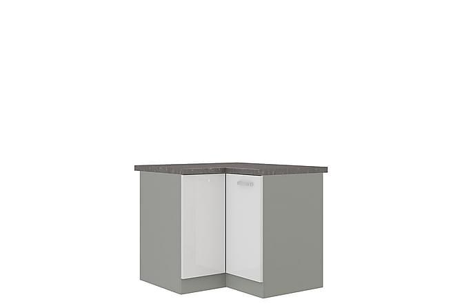 Bianco Hjørneskap 83x52x82 cm - Møbler - Oppbevaring - Oppbevaringsskap