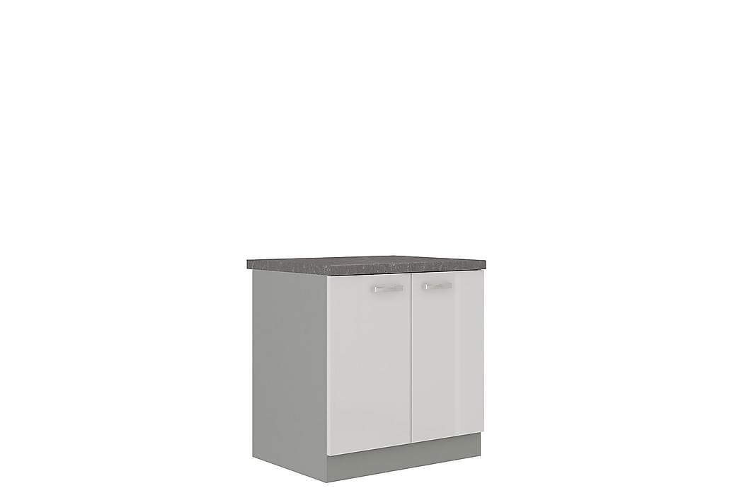 Bianco Skap med dører 80x52x82 cm - Møbler - Oppbevaring - Oppbevaringsskap