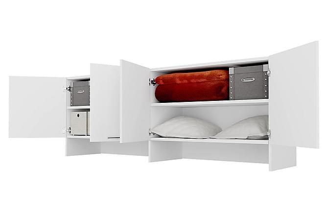 Concept Pro Oppbevaringsskap 215x46x78 cm - Hvit - Møbler - Oppbevaring - Oppbevaringsskap