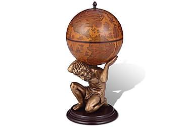 Globus barstativ Atlasdesign 42x42x85 cm