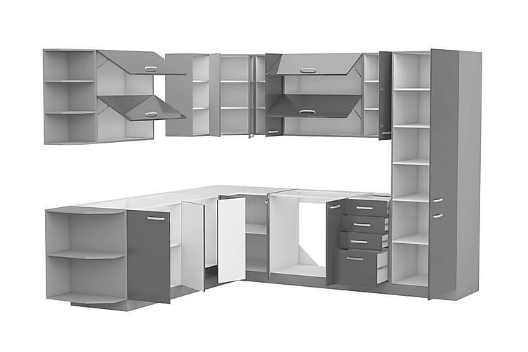 Grey Kjøkkenmøbler - Grå - Møbler - Oppbevaring - Oppbevaringsskap
