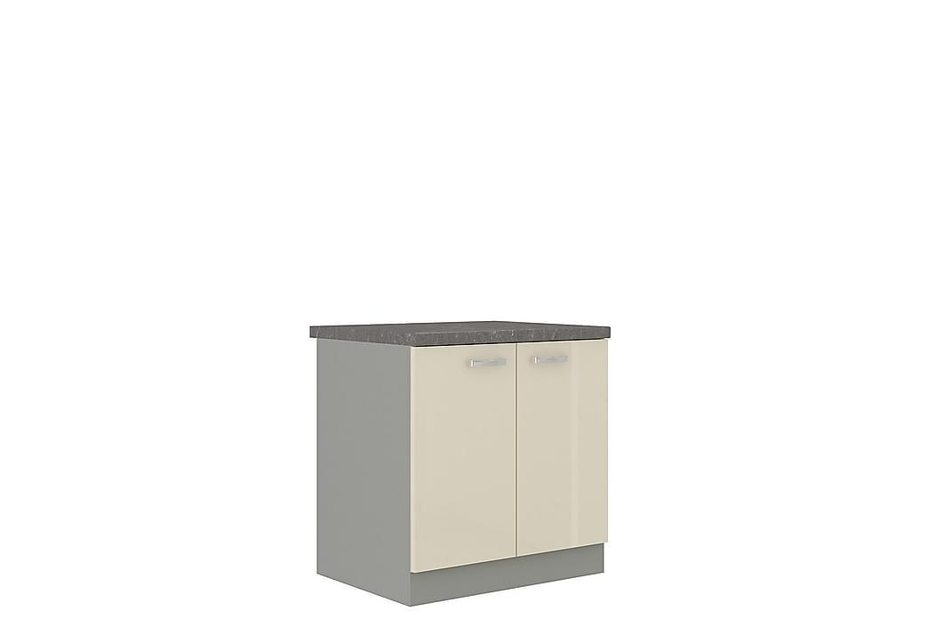Karmen Skap med dører 80x52x82 cm - Møbler - Oppbevaring - Oppbevaringsskap