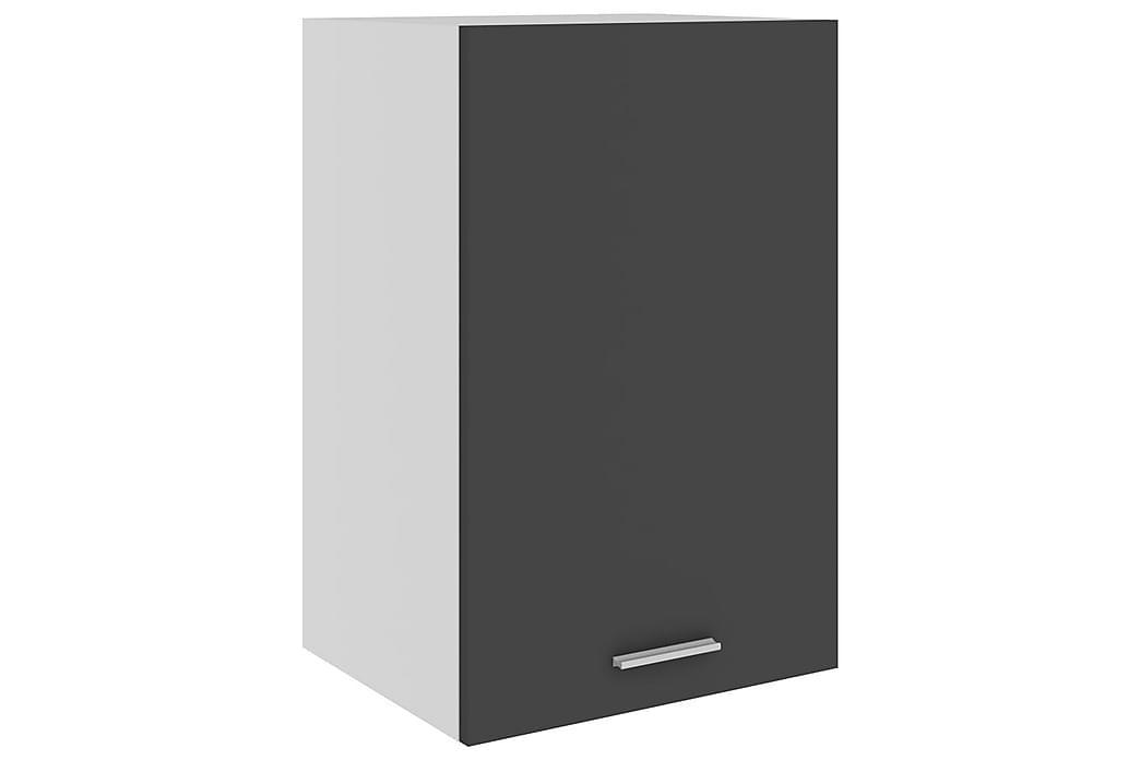 Kjøkkenskap grå 39,5x31x60 cm sponplate - Grå - Møbler - Oppbevaring - Oppbevaringsskap