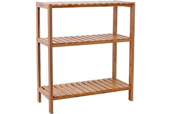 Qrisp Hylle Bambus - Møbler - Oppbevaring - Oppbevaringsskap