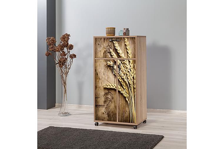 Ricado Kjøkkenskap 116 cm - Tre / Natur - Møbler - Oppbevaring - Oppbevaringsskap