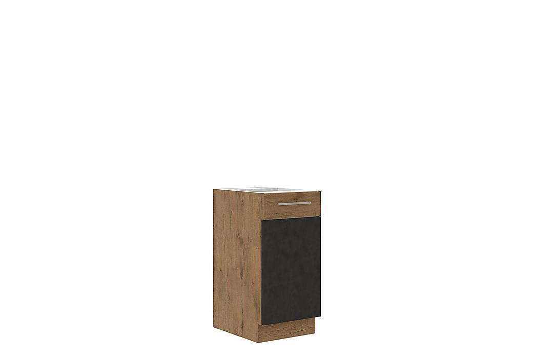 Vigo Skap 40x52x82 cm - Beige / Brun - Møbler - Oppbevaring - Oppbevaringsskap