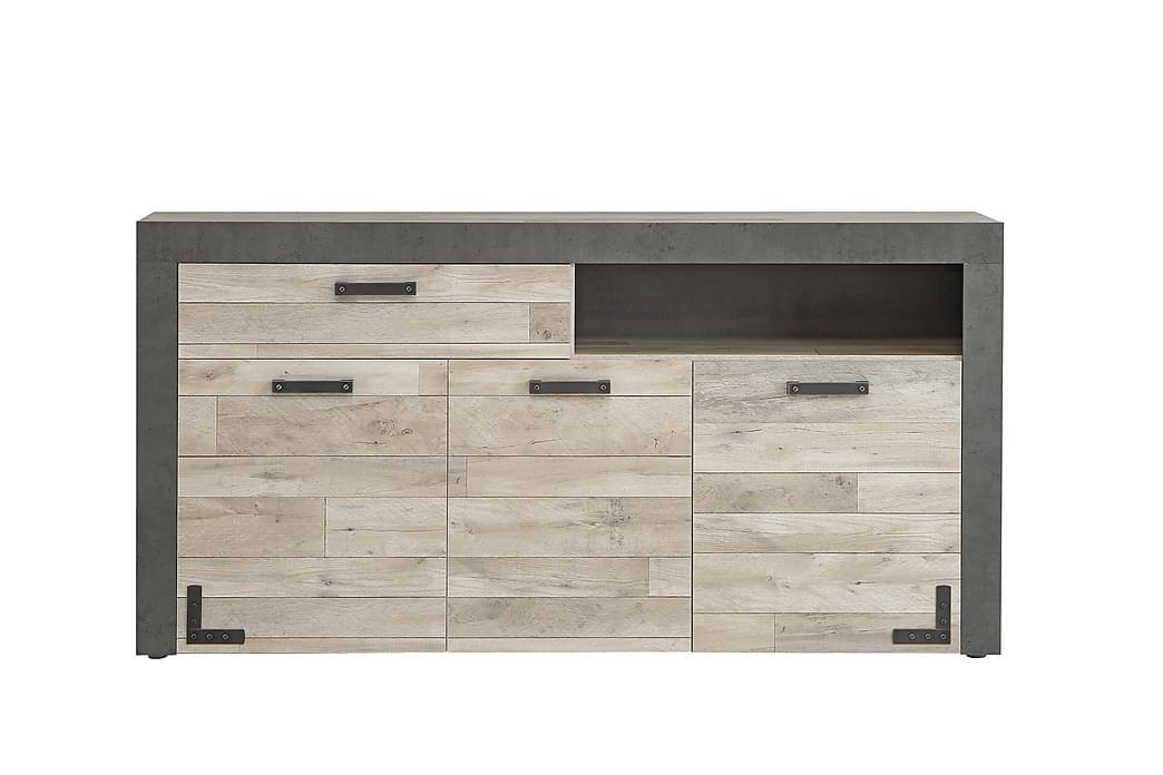 Findo Avlastningsbord 176 cm - Brun/Grå - Møbler - Oppbevaring - Sideboard & skjenk