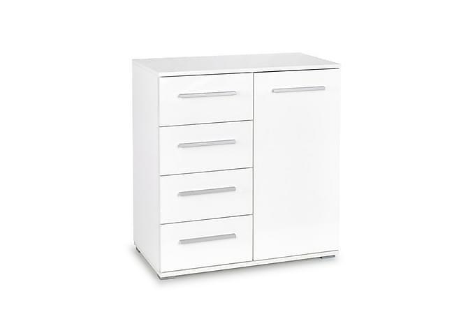 Lima Skjenk 4 Skuffer + 1 Skap - Hvit - Møbler - Oppbevaring - Sideboard & skjenk